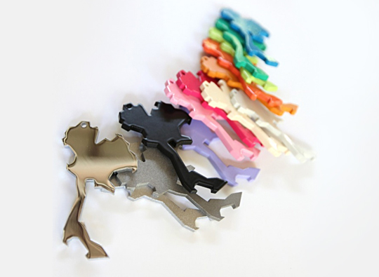 Multicolor Bottle Openers from SuperMachine Studio